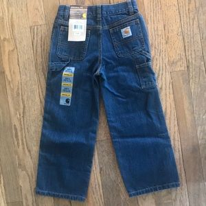 Carthartt original fit kids jeans sz 5